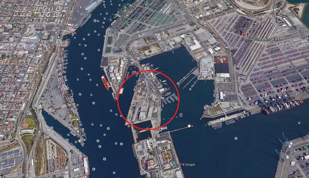 [SpaceX] à Port Los Angeles Scree276