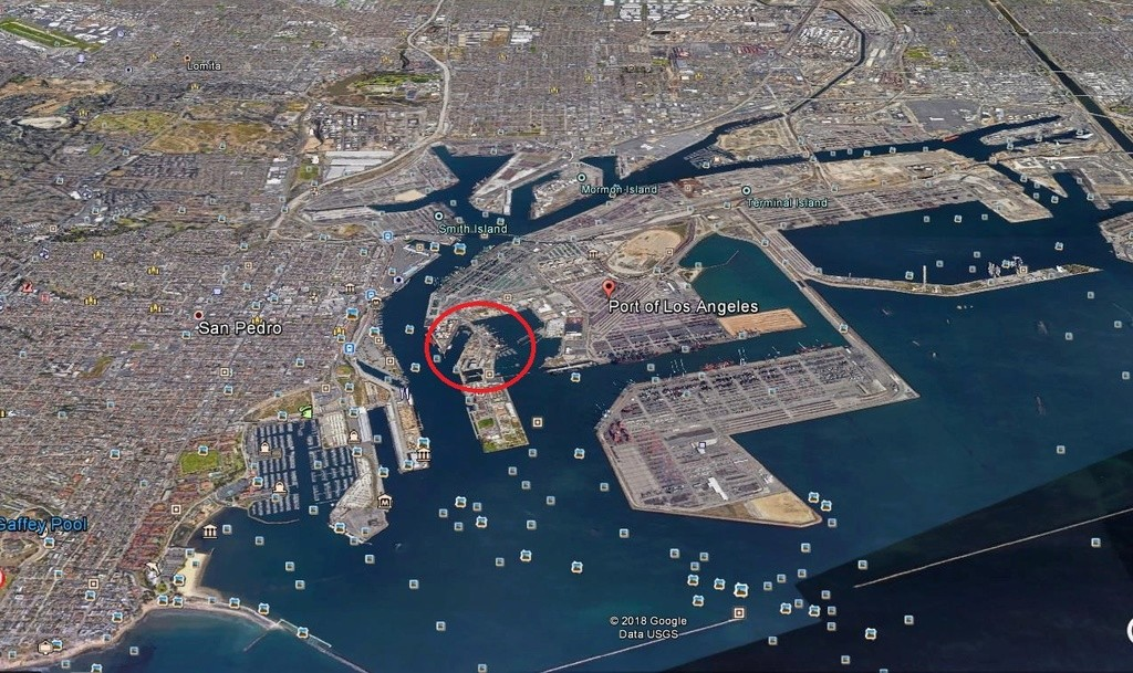 [SpaceX] à Port Los Angeles Scree277