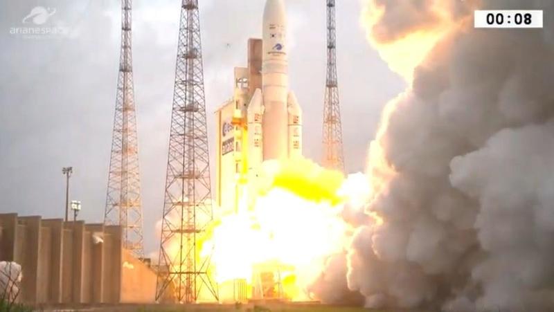 Ariane 5 ECA VA246 (GSAT-11 + GEO-KOMPSAT-2A) - 4.12.2018 Scree455