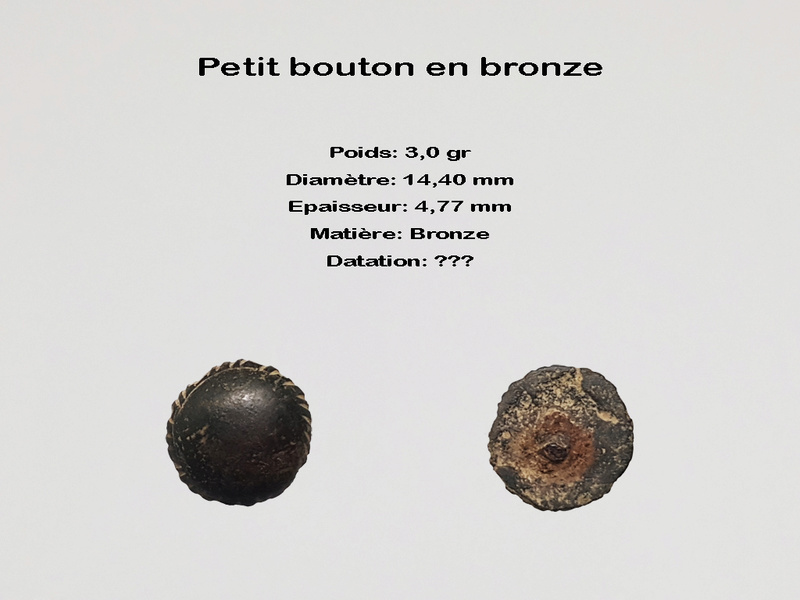 Bouton en bronze 2018-034