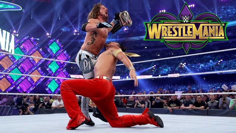 Wrestlemania 34 (Carte et Résultats) 30443410