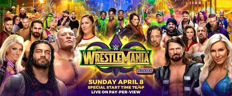 Wrestlemania 34 (Carte et Résultats) Wrestl10