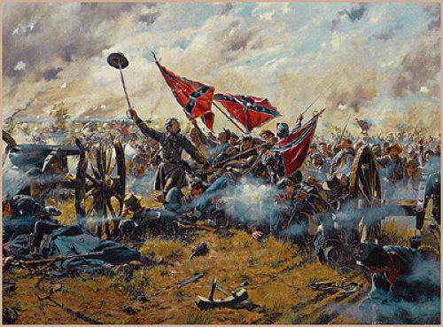 CR   LITTLE ROUND TOP  July the 2nd 1863 444_la10