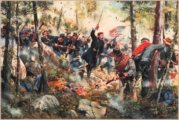 CR   LITTLE ROUND TOP  July the 2nd 1863 62430210