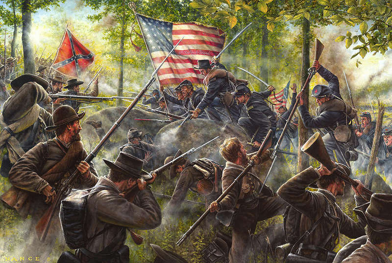 CR   LITTLE ROUND TOP  July the 2nd 1863 A-sava12