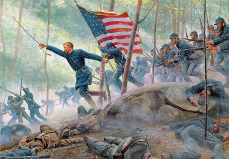 CR   LITTLE ROUND TOP  July the 2nd 1863 Col-ch10