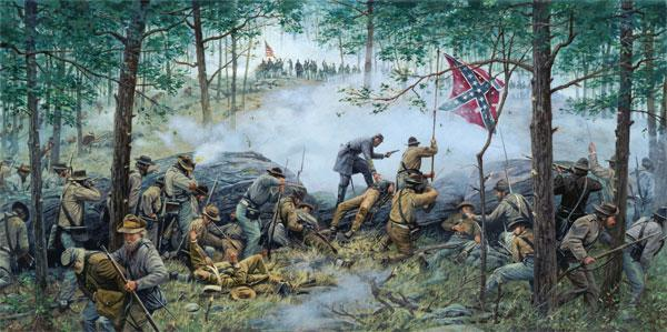 CR   LITTLE ROUND TOP  July the 2nd 1863 Dgma11