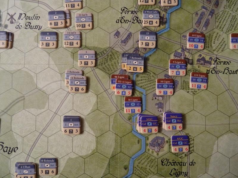 CR Last Eagles Ligny 1815 scénario Historique N°3 Dsc03526