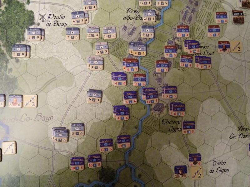 CR Last Eagles Ligny 1815 scénario Historique N°3 Dsc03527