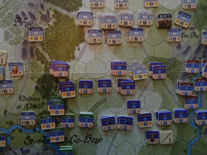CR Last Eagles Ligny 1815 scénario Historique N°3 Dsc03543