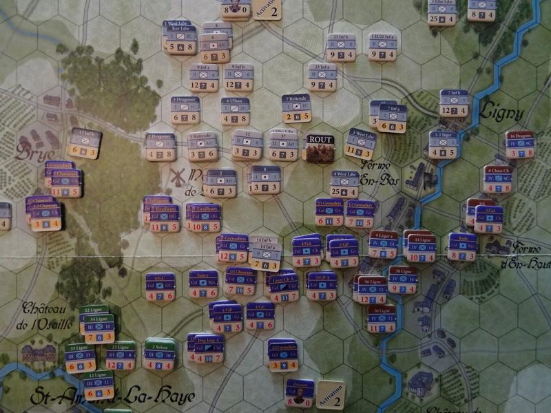 CR Last Eagles Ligny 1815 scénario Historique N°3 Dsc03544
