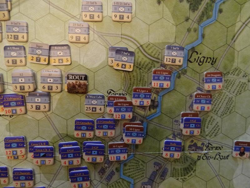 CR Last Eagles Ligny 1815 scénario Historique N°3 Dsc03545
