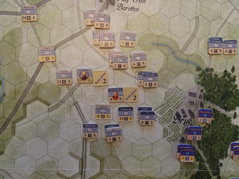 CR Last Eagles Ligny 1815 scénario Historique N°3 Dsc03546
