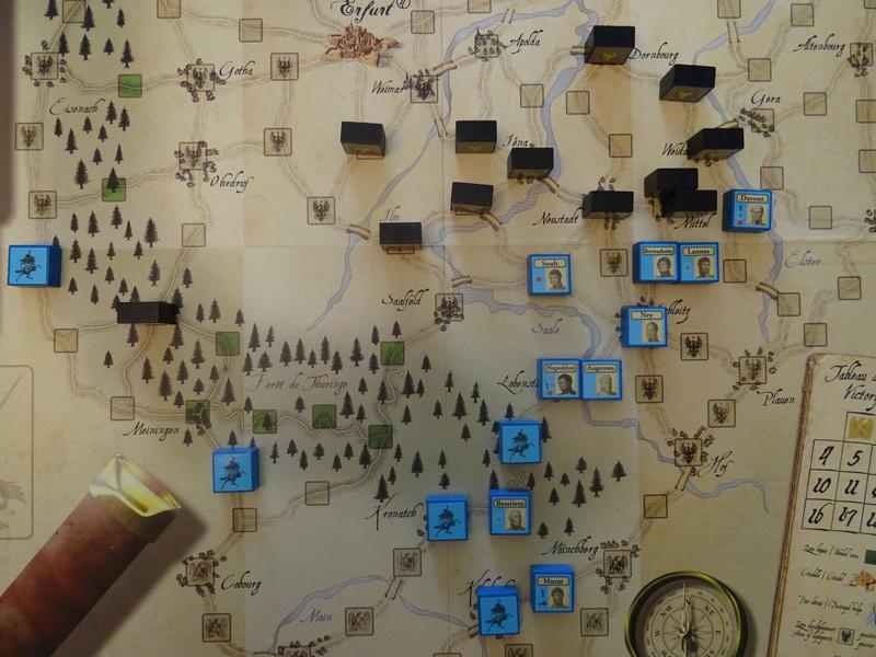 CR solo Napoléon 1806 stratégie FR commentée Dsc03947