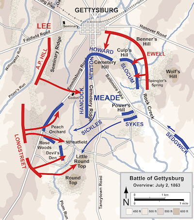 [CR] Little Round Top,  July 2 1863 Gettys12