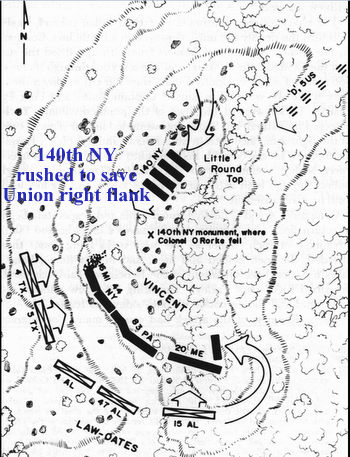 [CR] Little Round Top,  July 2 1863 Little10