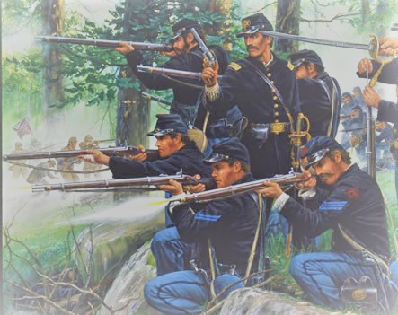 CR   LITTLE ROUND TOP  July the 2nd 1863 Little11