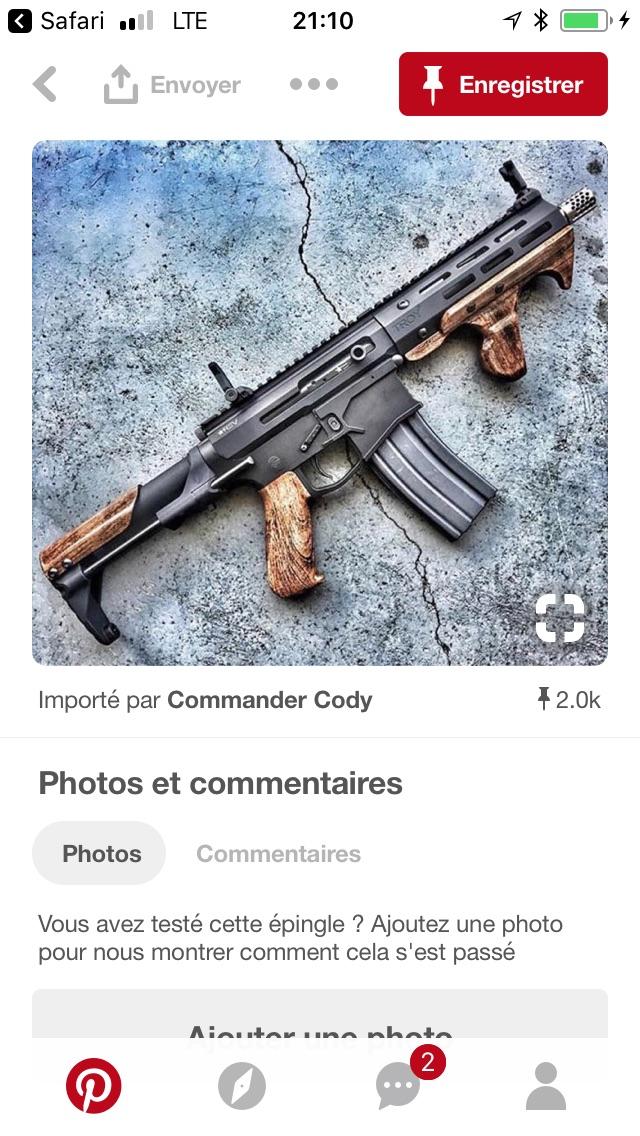 Aimez-vous le melange bois/tactical 3568e010