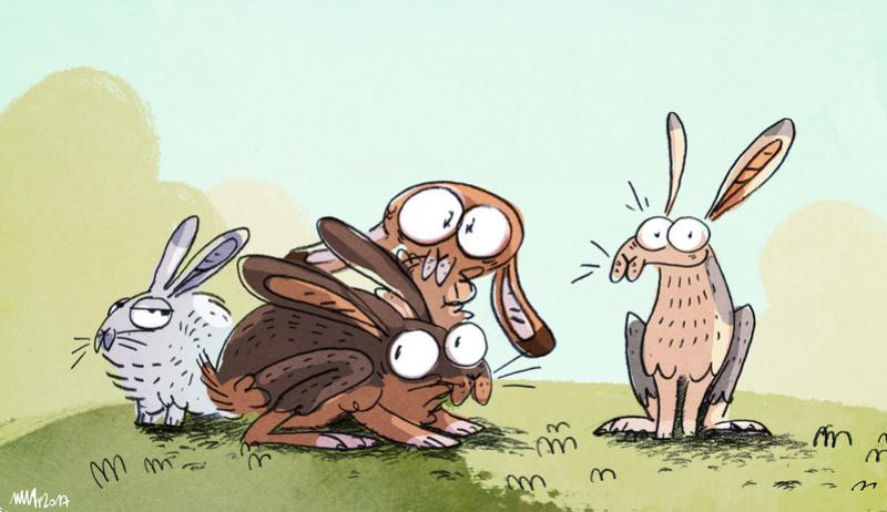 L'antre de la bête - Page 3 Hares10
