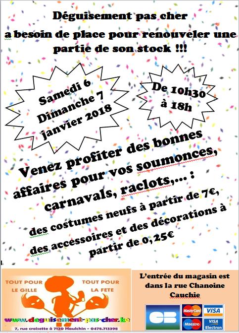 carnavals - Venez faire de bonnes affaires pour vos soumonces, carnavals, raclots... 22815510