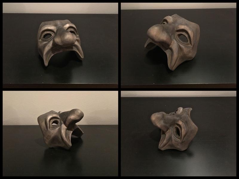Masque commedia dell'arte 612