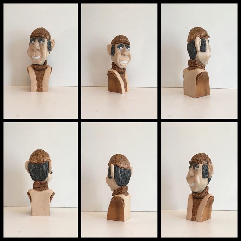 Mes sculptures des derniers mois! Carica10