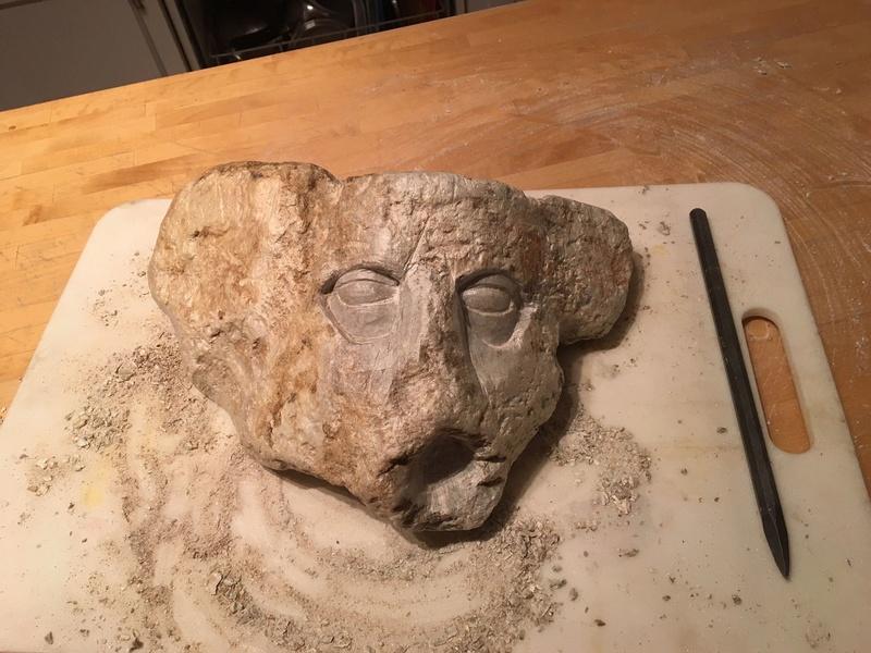 Mon premier essai sur la pierre! Img_8811