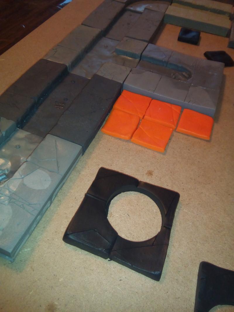 Coakroaches / SkavenBlight Scramblers Team & Diorama Project..processing Coakra14
