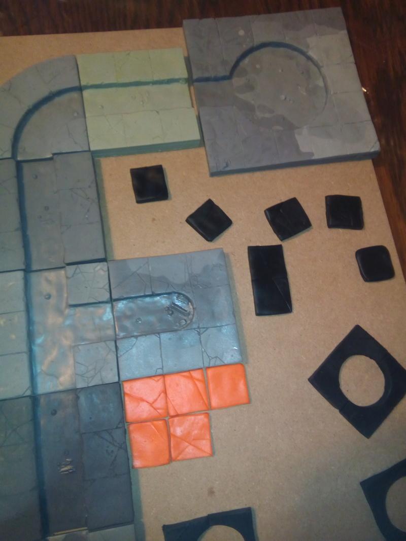 Coakroaches / SkavenBlight Scramblers Team & Diorama Project..processing Coakra18