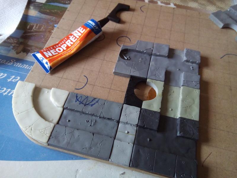 Coakroaches / SkavenBlight Scramblers Team & Diorama Project..processing Coakro24