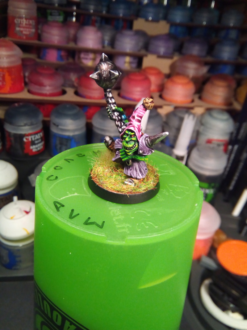 The Olive Bombs / Gobs Bloodbowl Team Fungus10