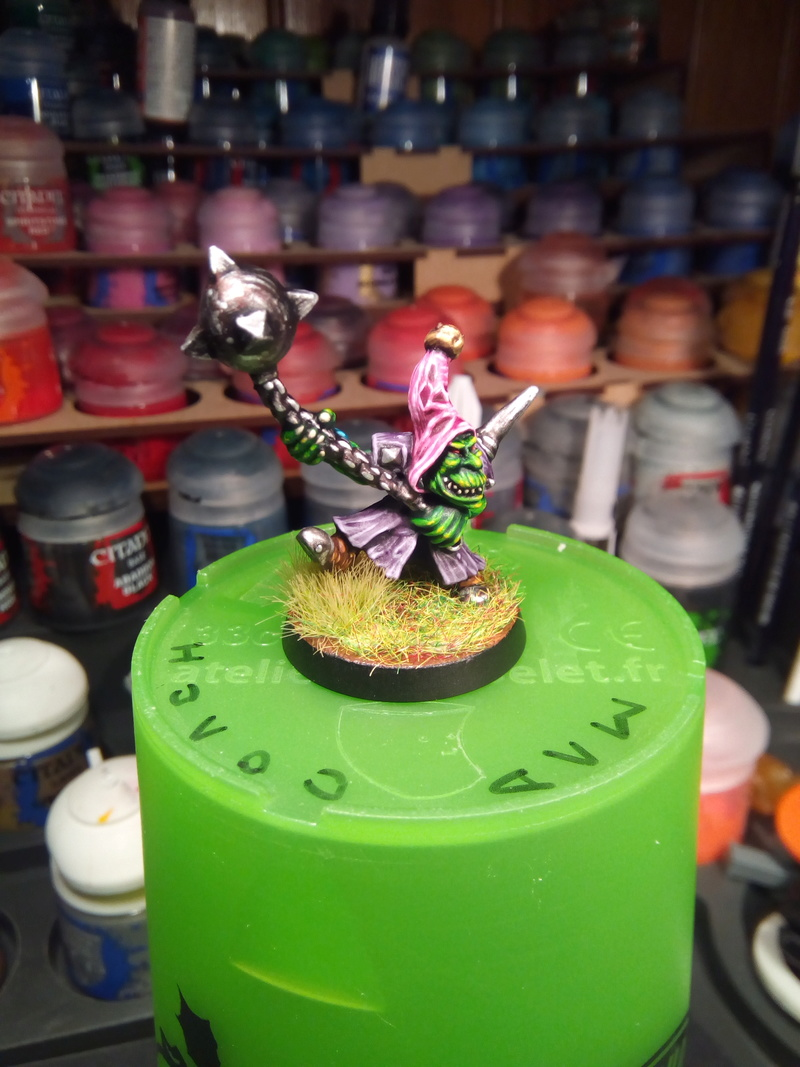 The Olive Bombs / Gobs Bloodbowl Team Fungus11