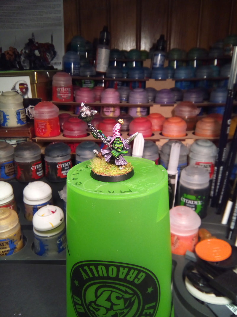 The Olive Bombs / Gobs Bloodbowl Team Fungus12