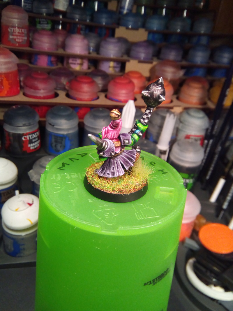 The Olive Bombs / Gobs Bloodbowl Team Fungus18