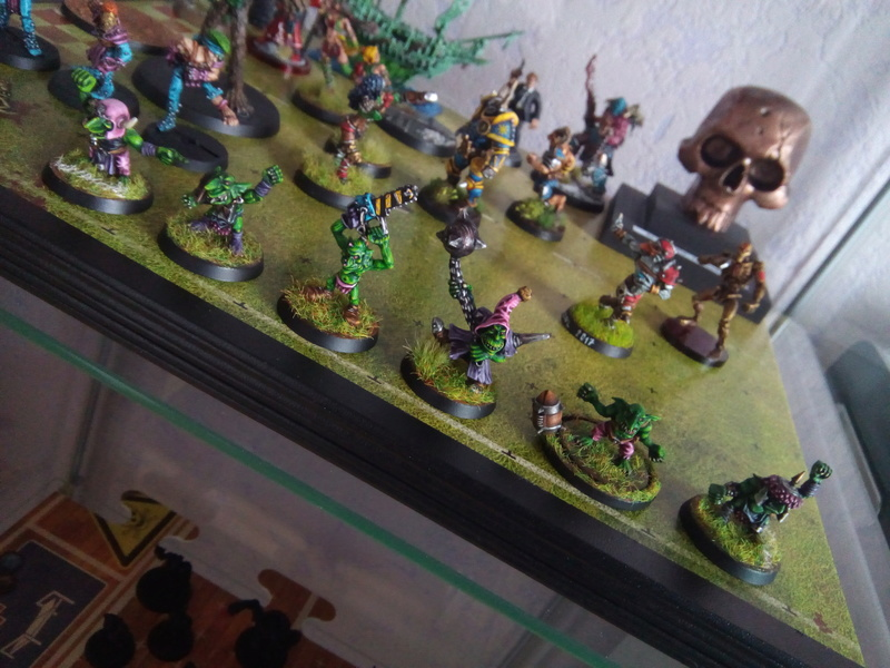 The Olive Bombs / Gobs Bloodbowl Team Fungus19
