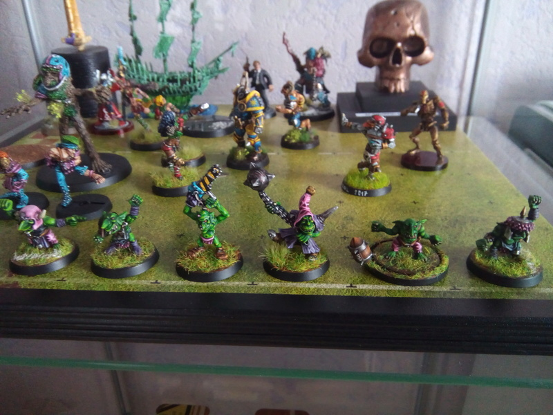 The Olive Bombs / Gobs Bloodbowl Team Fungus20