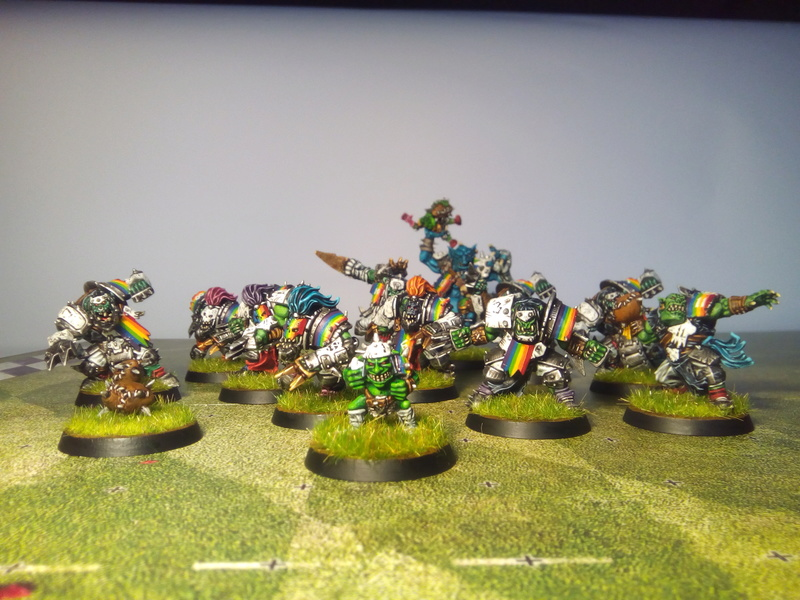 Rainbow Warriorks / Ork BloodBowl Team Project - Page 2 Rainbo28