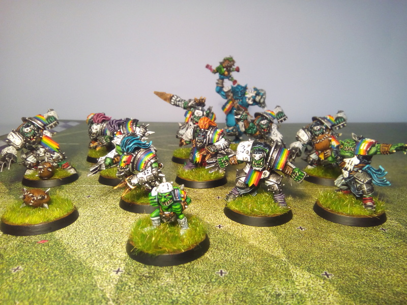 Rainbow Warriorks / Ork BloodBowl Team Project - Page 2 Rainbo31
