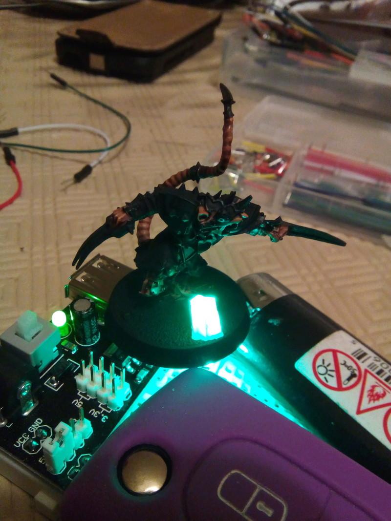 Coakroaches / SkavenBlight Scramblers Team & Diorama Project..processing Skaven11