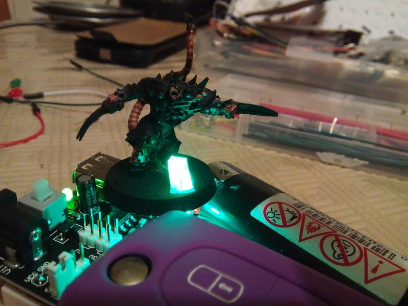 Coakroaches / SkavenBlight Scramblers Team & Diorama Project..processing Skaven14