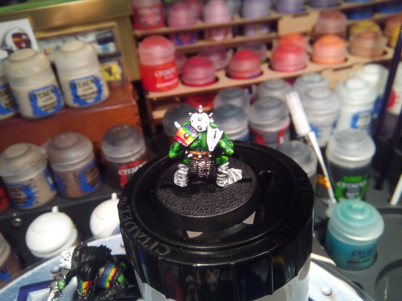Rainbow Warriorks / Ork BloodBowl Team Project The_co12