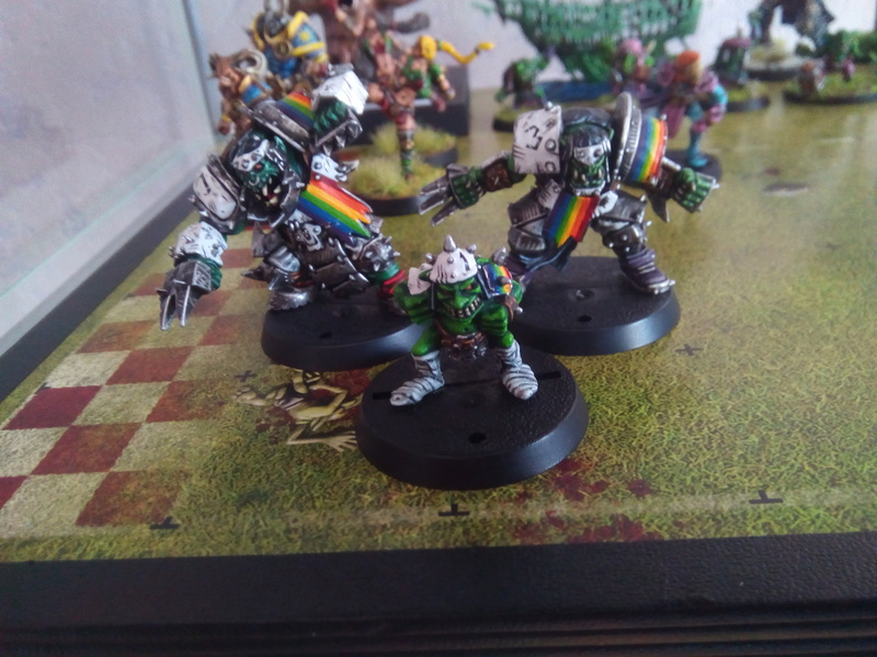 Rainbow Warriorks / Ork BloodBowl Team Project The_co13
