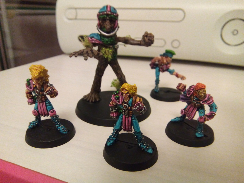 The Screaming Trees / BloodBowl Wood Elves Team The_sc16