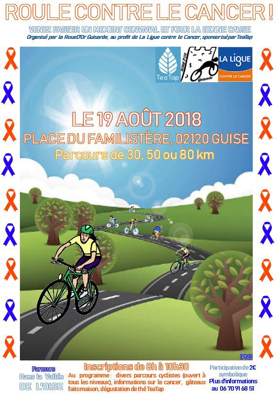 19 août 2018 rando cyclo guise contre le cancer 33853810