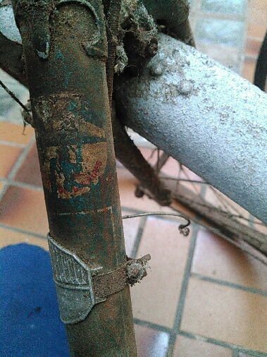 Vélo nancia cadre spécial double tubes anglais Emp_1510