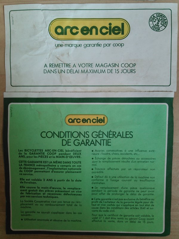 Arc-En-Ciel neuf emballé 1980 Kimg0240