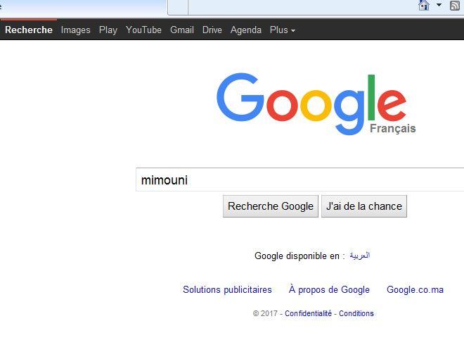 page - Defnir Google comme page d'accueil  Google10