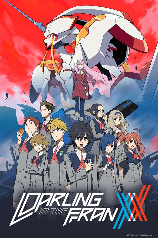 Darling in the FranXX Cover21