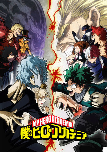 Boku no hero academia (Temporada 3) Cover40