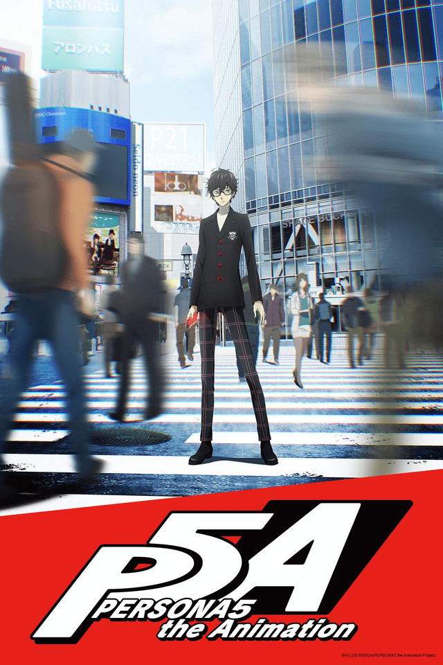 Persona 5 The animation Cover45